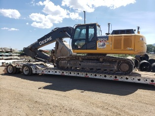 Heavy Haul Transport with Cozad 16 Tire